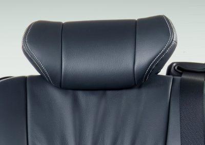 Bigger 2nd Row Seat Headrest