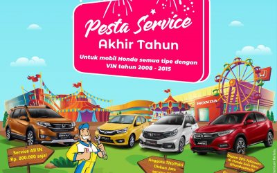 Pesta Service Akhir Tahun Honda Solo Baru