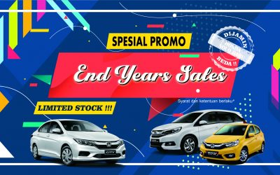 "Spesial Promo ""END YEARS SALES HONDA LIMITED STOCK"""
