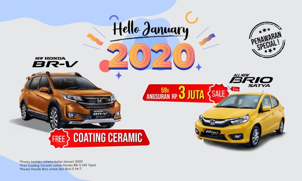 Promo tahun baru mobil baru