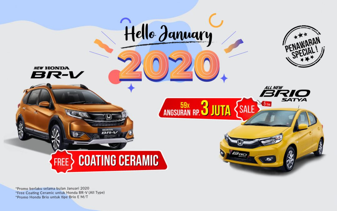 Spesial Promo Tahun Baru Honda selalu di nanti
