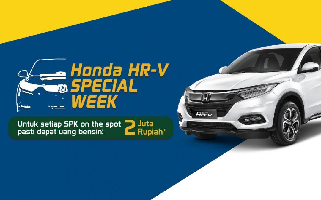 HONDA HR-V Special Week, Dapatkan Uang Bensin Senilai 2 Juta