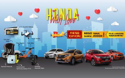 Ayo Ikuti Spesial Promo HONDA with Love, Nego terus sampai Jodoh !
