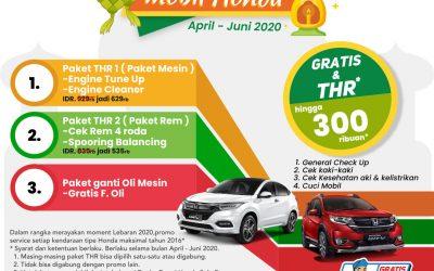 Sambut Mudik Lebaran Bersama Promo Honda Service Lebaran