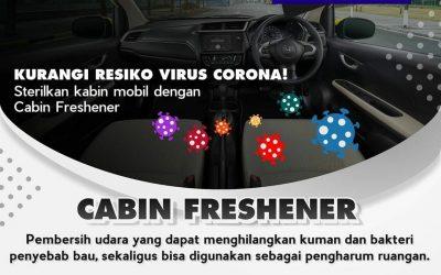 Kurangi Resiko Virus, Honda Sterilkan Mobil Dengan Cabin Freshener