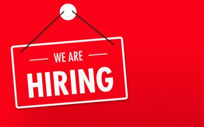 WE'RE HIRING!! IT SUPPORT