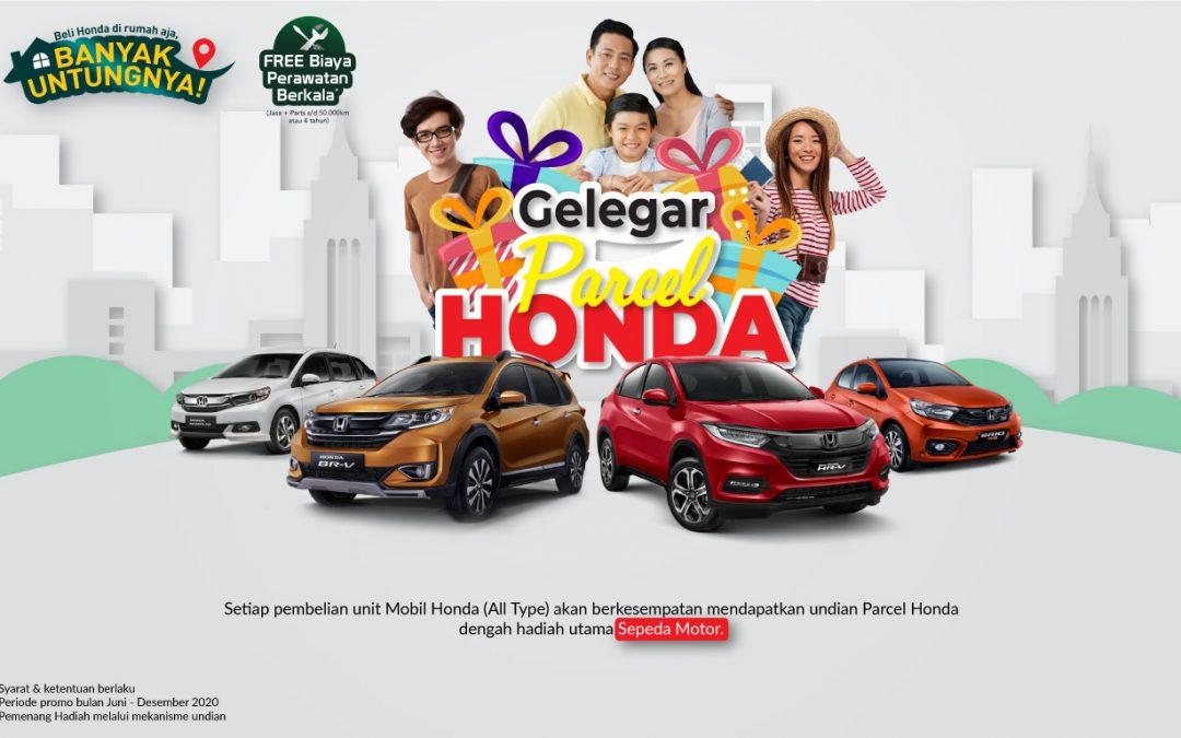 Gelegar Parcel Honda