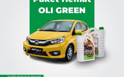 3 Varian Oli Honda E-pro Green, Blue, dan Gold. Segera Dapatkan Paket Hematnya!!