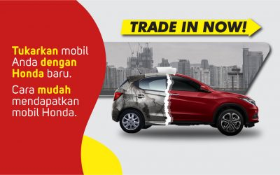 Trade In Mobilmu di Honda