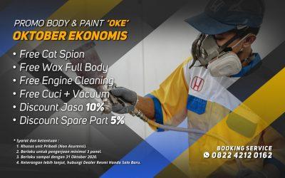 "Promo Service Body & Paint ""OKE"""