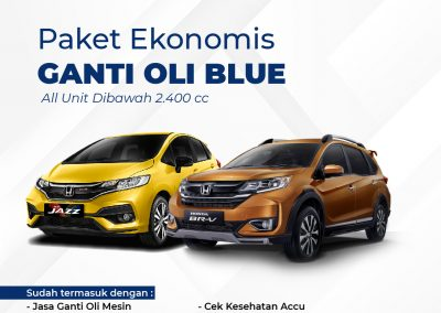 Promo Service Ekonomis Blue