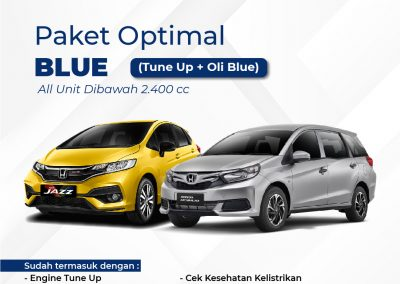 Promo Service Optimal Blue
