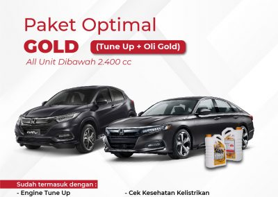 Promo Service Optimal Gold