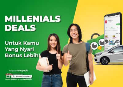 Promo Millennials Deal