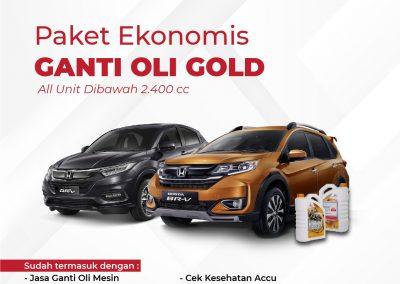 Promo Service Ekonomis Gold