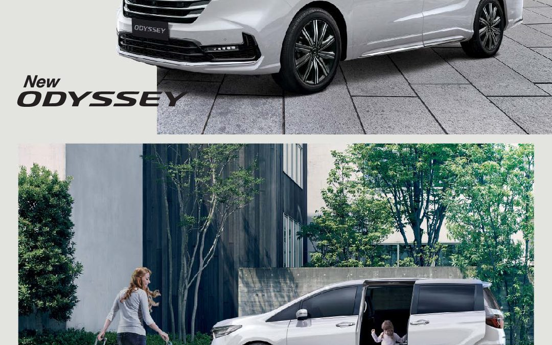New Honda Oddysey Semakin Aman dan Mewah