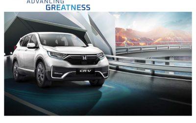 Honda Luncurkan Model Terbaru New Honda CR-V