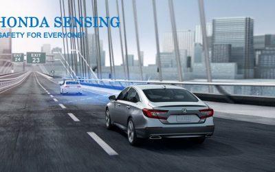 Kenali Fitur Canggih Honda Sensing