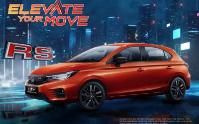 Honda City Hatchback RS Resmi Hadir di Indonesia
