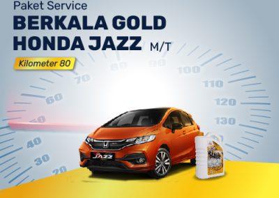 Paket Service GOLD Honda JAZZ MT Km 80K