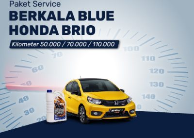 Paket Service BLUE Brio 50K/70K/110K