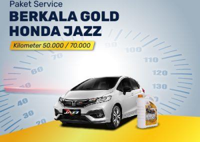Paket Service GOLD Honda Jazz Km 50K/70K