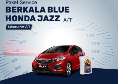 Paket Service Berkala BLUE Honda JAZZ AT 80K