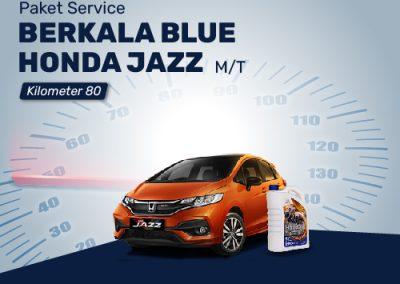 Paket Service BLUE Honda JAZZ MT 80K