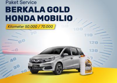 Service Berkala GOLD Mobilio 50K/70K/110K