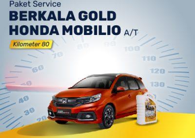 Paket Service Gold Mobilio Km 80 A/T