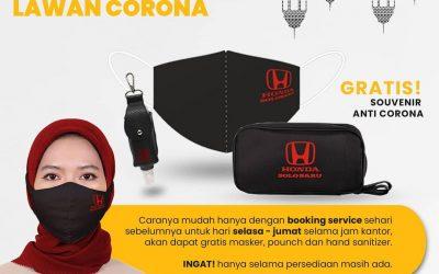 Sehat Bersama Honda, Booking Servicenya dapat hadiahnya