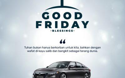 Honda Solo Baru Mengucapkan Selamat Memperingati Jumat Agung