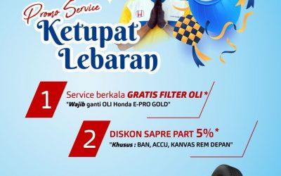 Promo Service Ketupat Lebaran