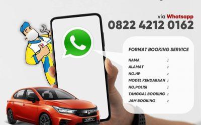 PPKM Berlaku, Wajib Booking Servis Dahulu!