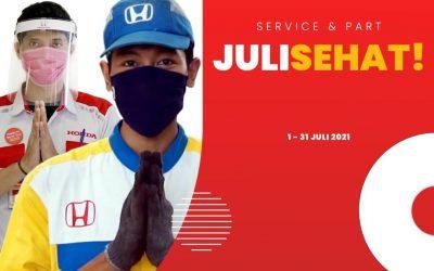 """Spesial Promo Service dan Part """"JULI SEHAT"""""""