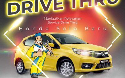 Inovasi Servis Drive Thru Honda Solo Baru