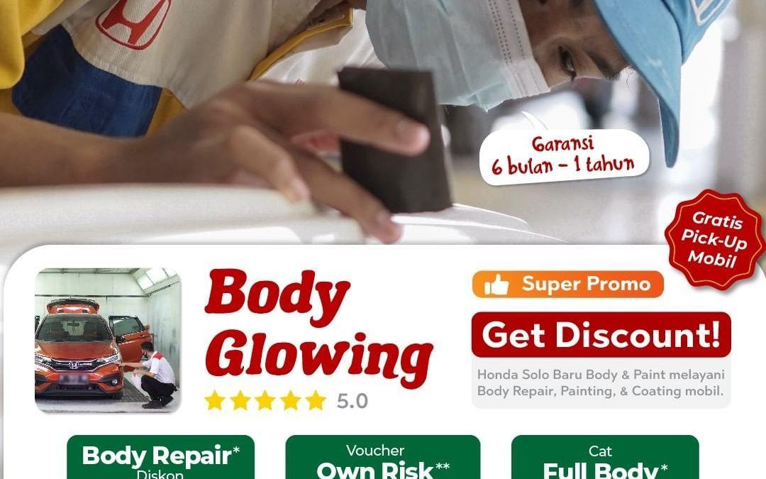 Promo Body Glowing Honda September