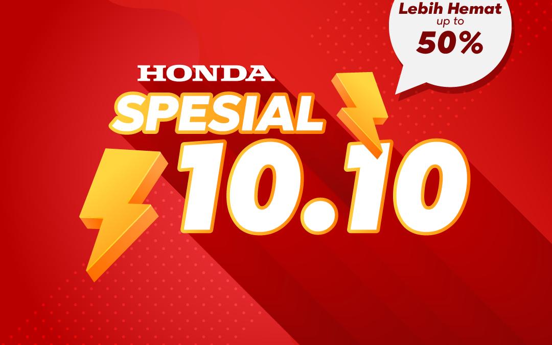Honda Promo Oktober Spesial 10.10